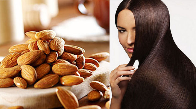 Almond milk for your hair