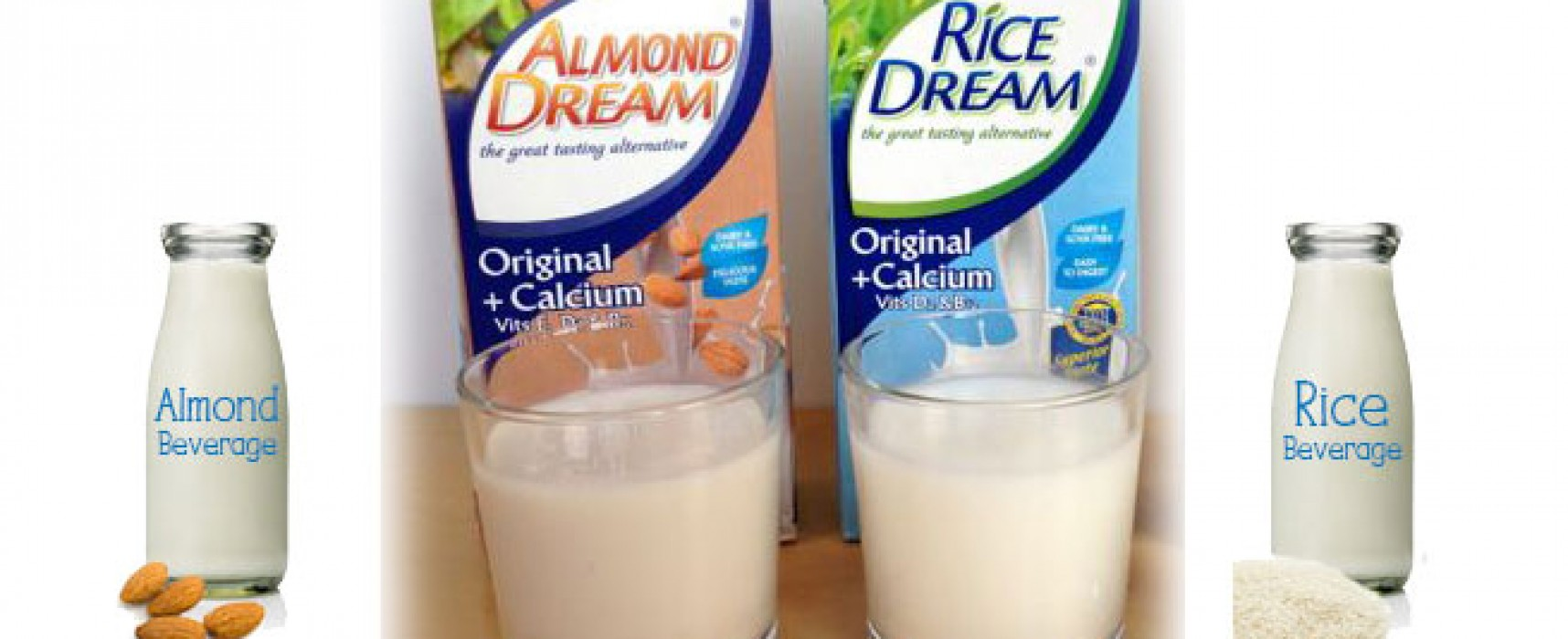Almond Milk vs. Rice Milk