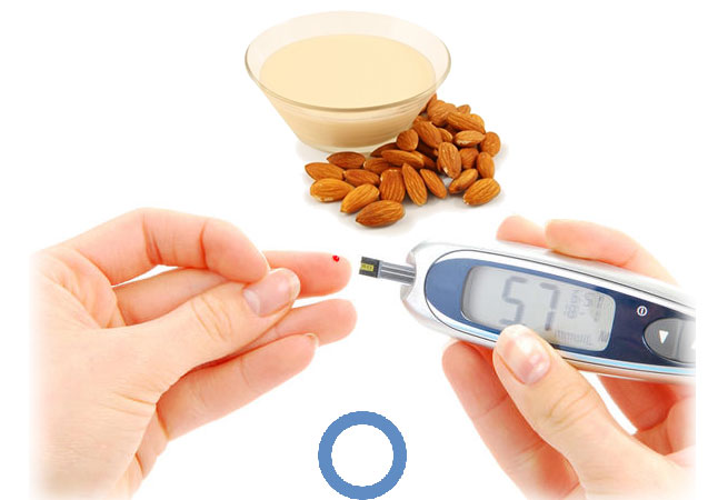 Almond milk for diabetes